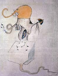 Cadavre Exquis, Man Ray (Emmanuel Radnitzky, 1890-1976), Joan Miró. (1893-1983), Max Morise e Yves Tanguy. (1900-1955).